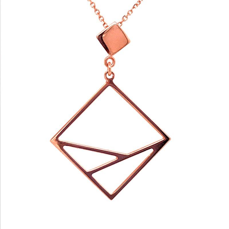 Gold Fashion Geometric Pendant