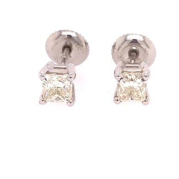 Princess Stud Earrings