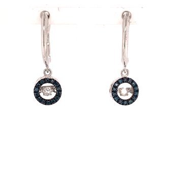 Rhythm Of Love Diamond Earrings