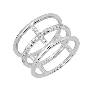 Created Diamond Fashion Ring