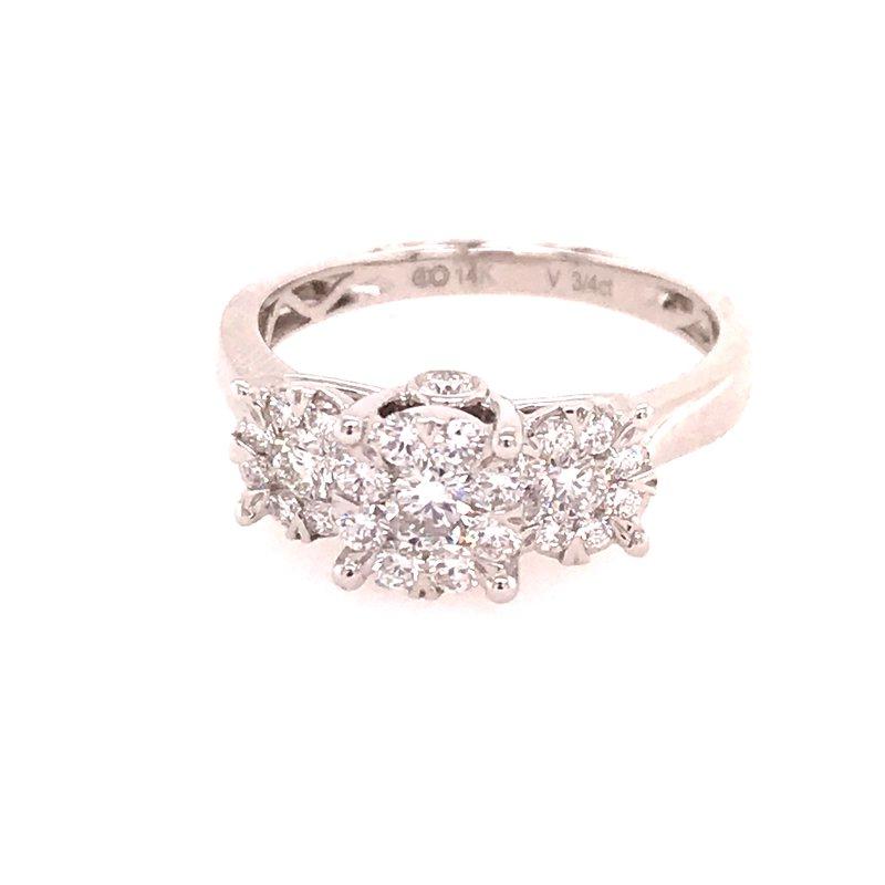 Dean's Bridal Past Present Future Ring
