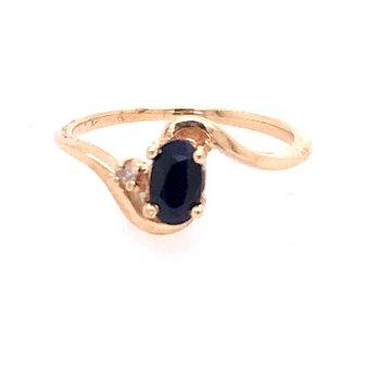 Blue Sapphire Fashion Ring