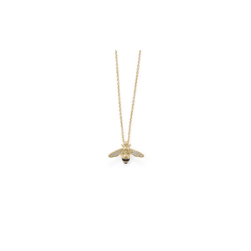 Fashion Jewelry Honey Bee Pendant