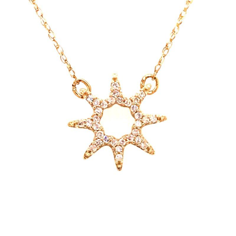 Diamond Fashion Star Diamond Pendant