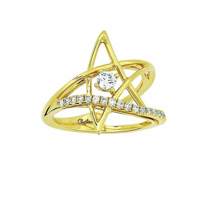 Diamond Fashion Created Diamond Star Fashion Ring