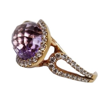 Rose De France Diamond Ring