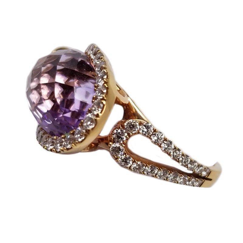 Rose De France Diamond Ring