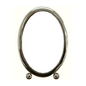 Sterling Footed Oval Frame