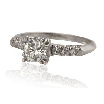 Classic Estate Engagement Ring