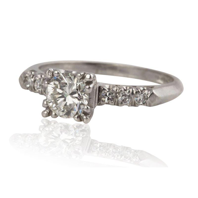 Classic Estate Engagement Ring