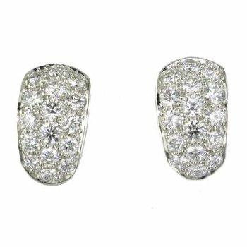 Pave Diamond Earring