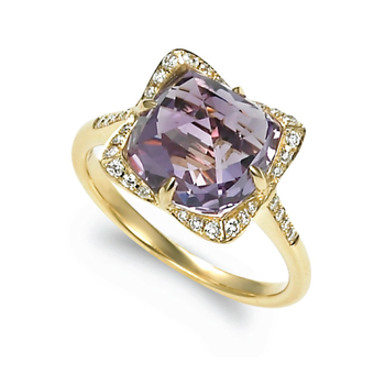 Candy Colors Amethyst Ring