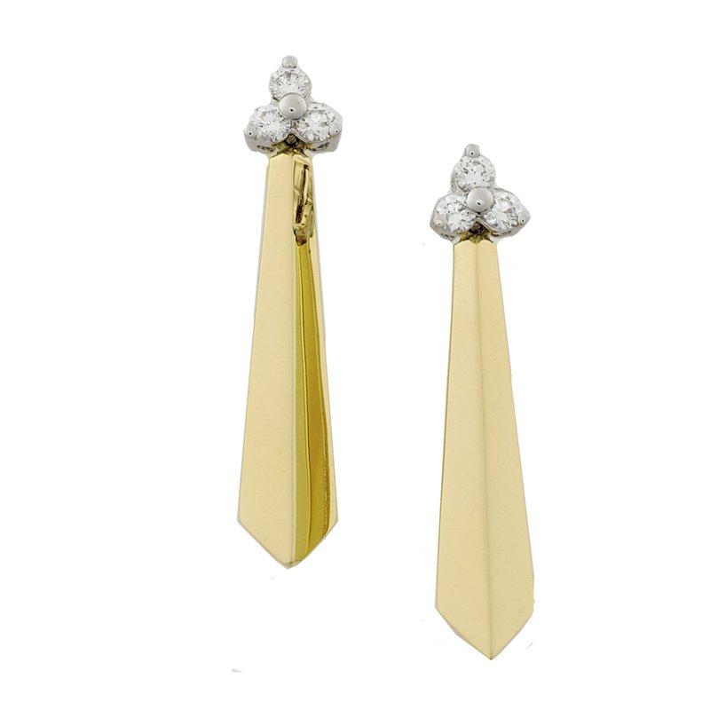 Diamond Drop Earrings