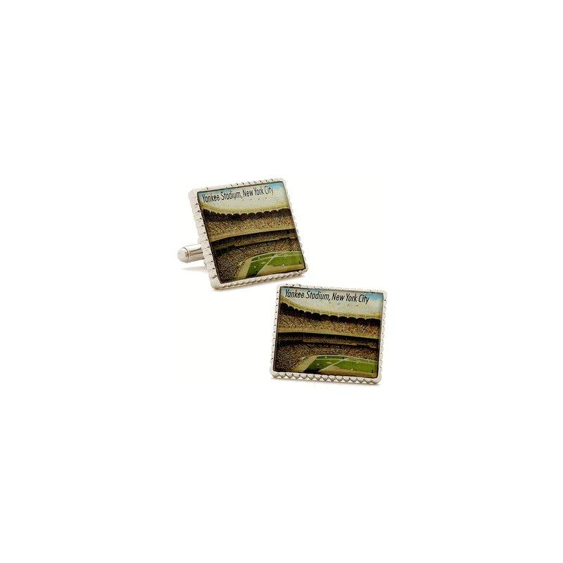 Authentic Yankees Stadium Stamp Cuff Links