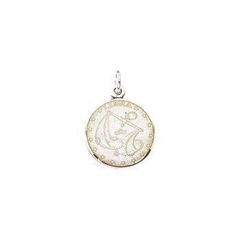 Zodiac Enamel Libra Charm Small
