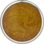 Large St. Christopher Medals