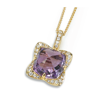 Candy Colors Amethyst Pendant
