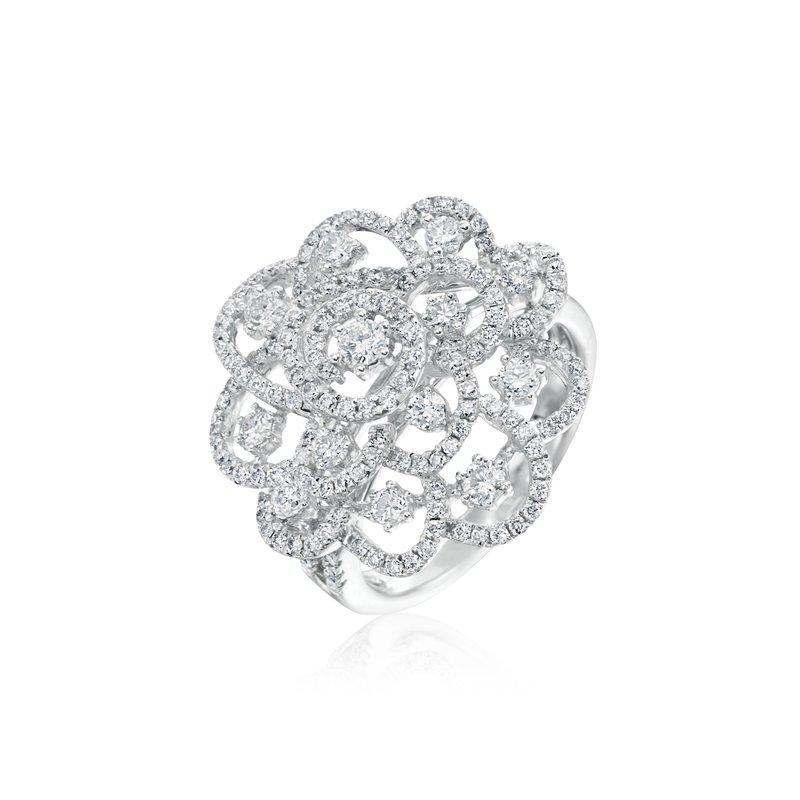 Openwork Diamond Ring