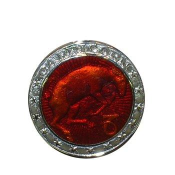 Zodiac Enamel Capricorn Charm