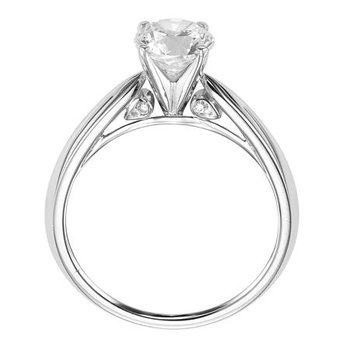 Surprise Diamond Solitaire Engagement Ring