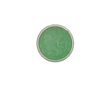 Light Green Extra Small St. Christopher Medal