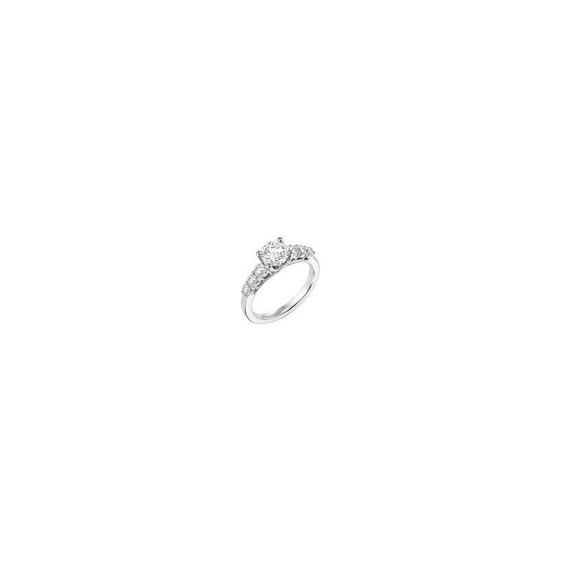 Seven Stone Diamond Engagement Ring