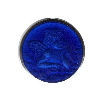 Enamel Cherub Medal Medium