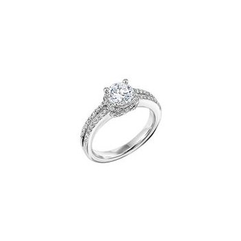 Fancy Diamond Engagement Ring