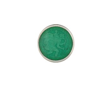 Jade Extra Small St. Christopher Medal