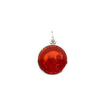 Zodiac Enamel Capricorn Charm Small