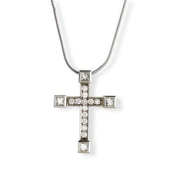 Platinum Diamond Luxe Cross