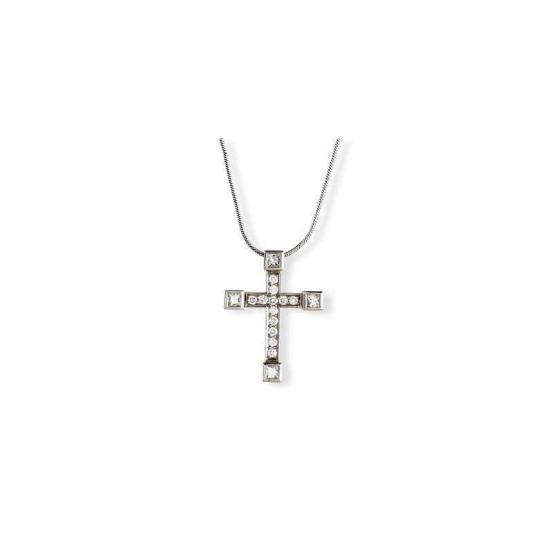Platinum Diamond Luxe Cross