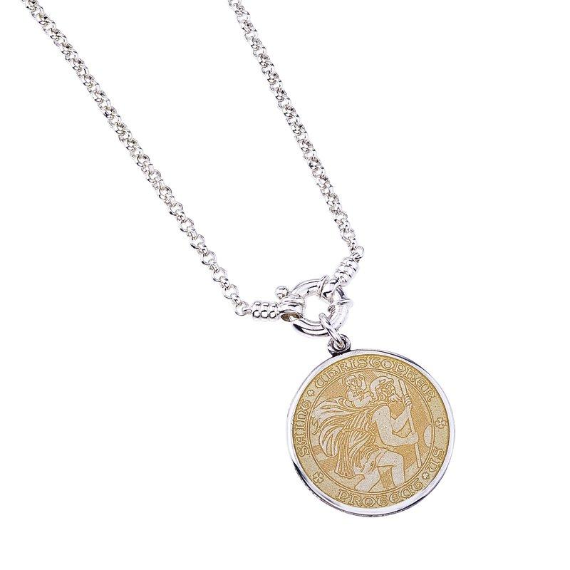 Large St. Christopher Medal