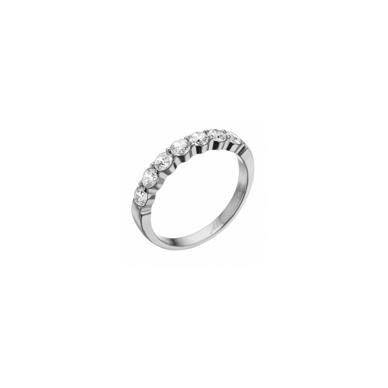 Petite Prong Diamond Band