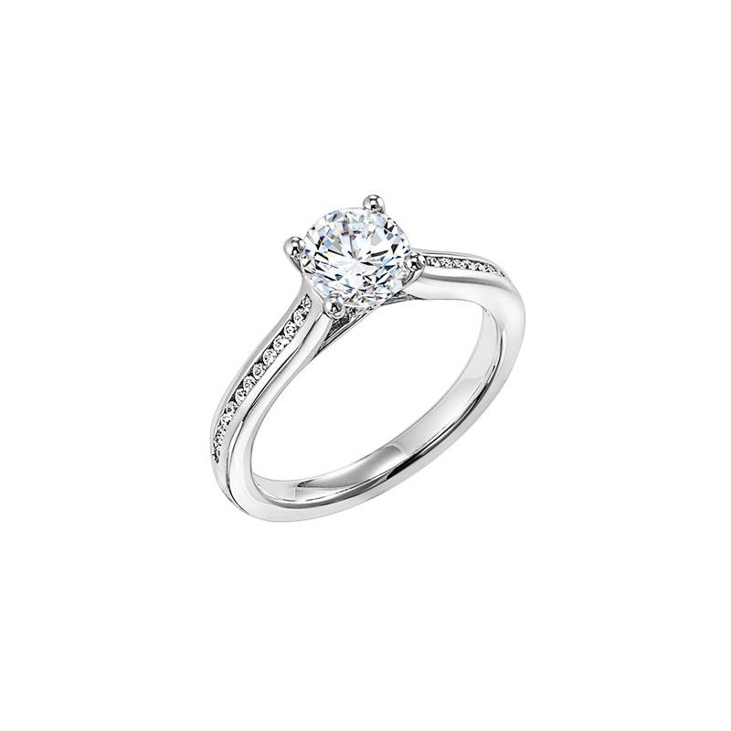 Diamond Princess Engagement Ring