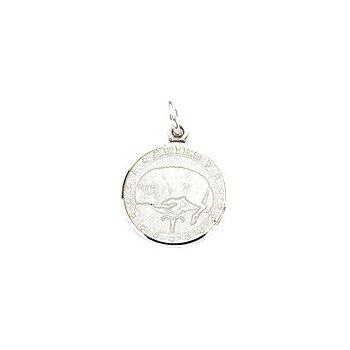 Zodiac Enamel Aries Charm Small