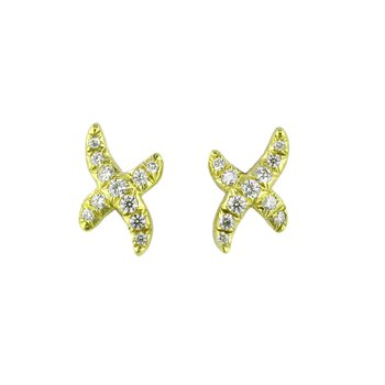 Diamond Kiss Earrings