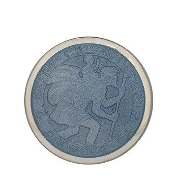 Gray St. Christopher Medal