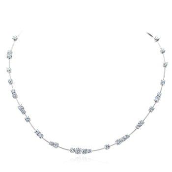 Platinum Wire Necklace