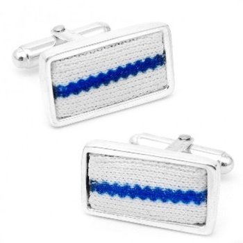 Mets Uniform Cufflinks in Sterling Silver