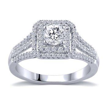 14k 1ctw Engagement Ring