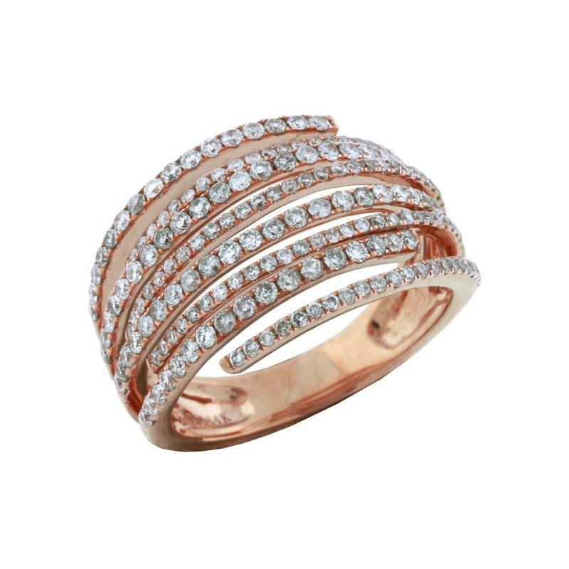 Royal Jewelry Rose Diamond Ring