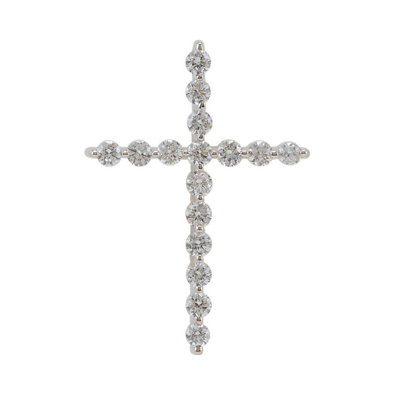 Fuller's Collection Diamond Cross Necklace