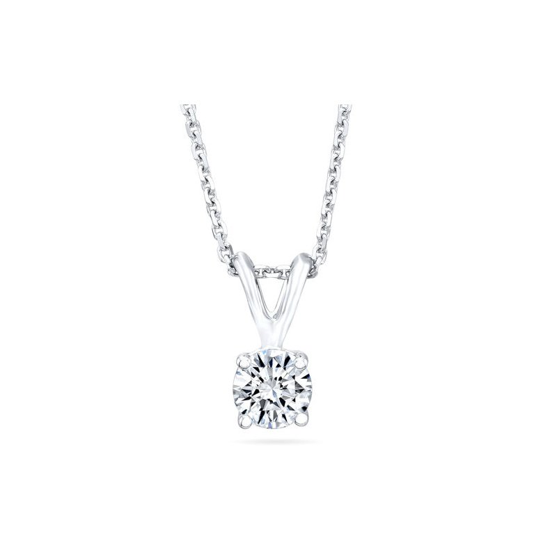 Fuller's Collection Diamond Solitaire Necklace
