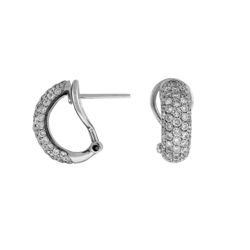 Royal Jewelry Diamond Earrings