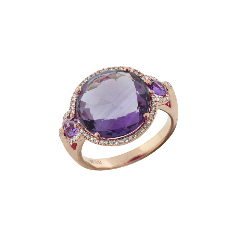 Royal Jewelry Amythest Ring