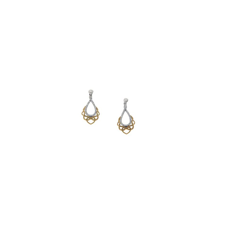 Barany Signature Love's Chalice Post Earrings by Keith Jack