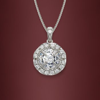 Galatea Momento Diamond Pendant