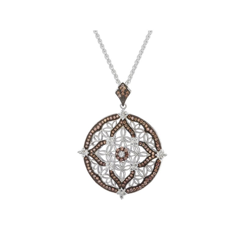 Barany Signature Night and Day Pendant with CZs by Keith Jack