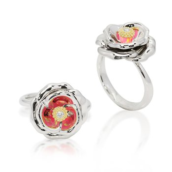 Galatea Rose ring from Gloria Collection